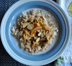 Farro Oatmeal Porridge