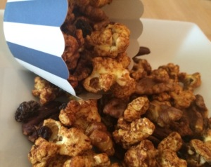 Spiced Popcorn and Nuts