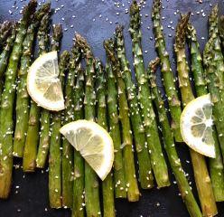 Roasted Sesame Asparagus