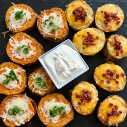 Baked Potato Rounds